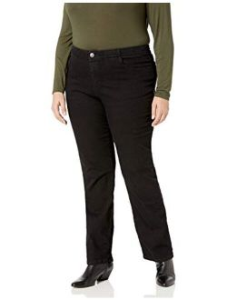 Riders by Lee Indigo Women's Plus Size Comfort Collection Straight Leg Jean