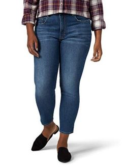 Riders by Lee Indigo Women's Plus Size Heritage High Rise Skinny Ankle Jean