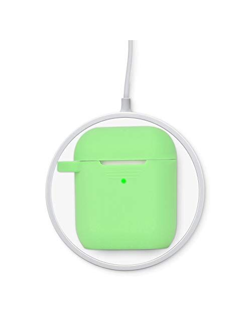 Filoto Case for Airpods, Airpod Case Cover for Apple Airpods 2&1 Charging Case, Cute Air Pods Silicone Protective Accessories Cases/Keychain/Pompom/Strap, Best Gift for G