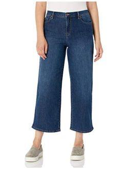 Women's Amanda Wide Leg Crop Length Jean