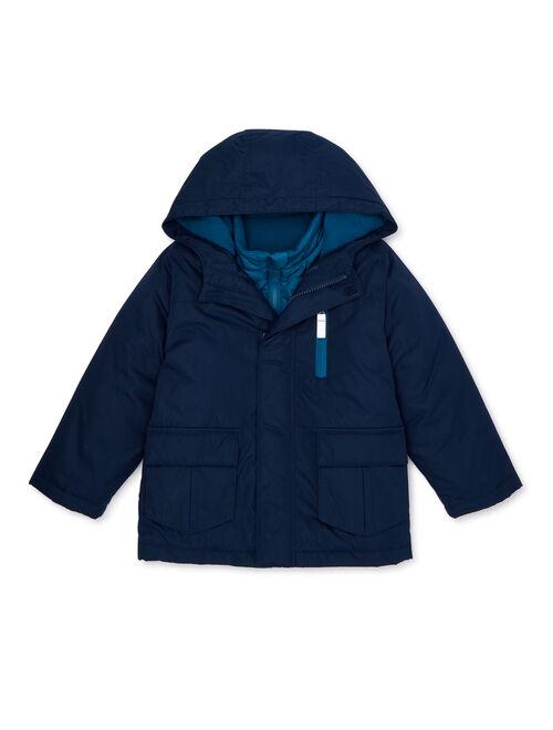 Wonder Nation Toddler Boys 4-in-1 Systems Jacket Coat