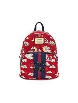 Mushu Cloud Print Mini Backpack