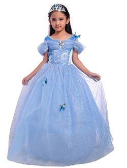 Dressy Daisy Girls Princess Dress Costume Christmas Halloween Fancy Dresses Up Butterfly Size 24M-12