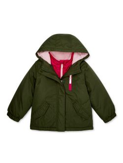 Toddler Girls 4-in-1 Systems Jacket Coat