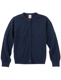 Girls School Uniform Knit Cardigan, Sizes 4-18