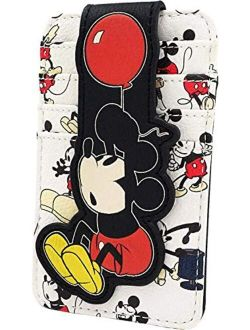 Disney Mickey Mouse Balloon All Over Print Card Holder Wallet