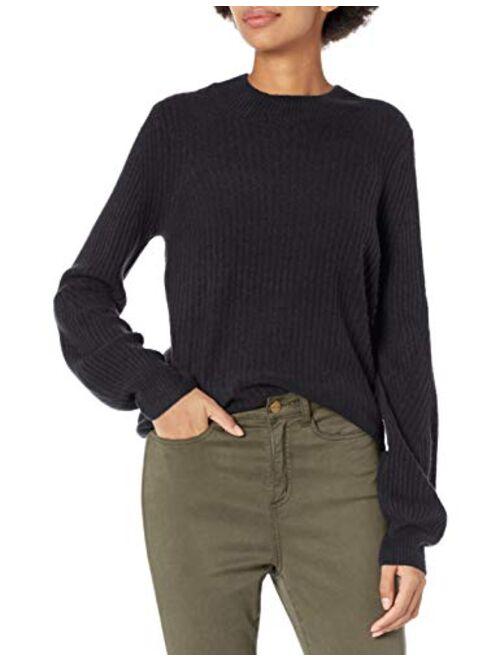 Daily Ritual Womens Mid-Gauge Stretch Crewneck Sweater Dress Brand