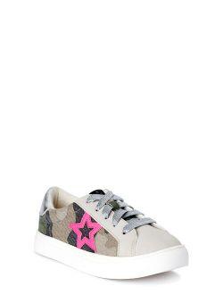 Star Struck Canvas Court Sneaker (little Girls & Big Girls)