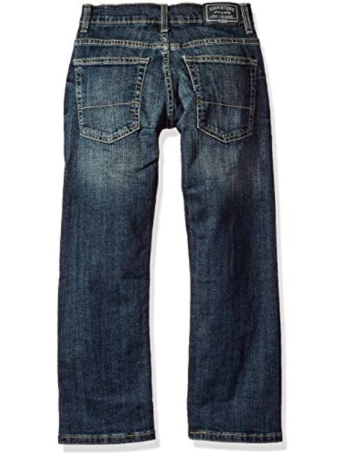 Signature by Levi Strauss & Co. Gold Label Boys' Straight Fit Jeans