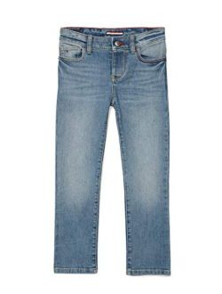 Boys' Adaptive Skinny Fit Jean With Velcro Brand Closure And Fly