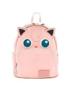 Pokemon Jigglypuff Faux Leather Mini Backpack Standard