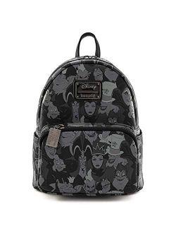 Disney Villains Debossed Mini Backpack