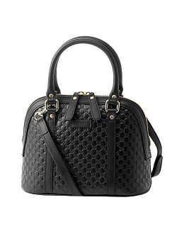 Microguccissima Bag Black Leather 449654 Bmj1g 1000