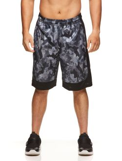 Men's Active All Court Basketball Shorts With Camo Print, Up To 5xl