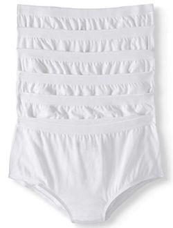 Women Cotton Brief Panties, Pack Of 6
