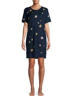 Stars Blue Cove Pajama Lounger W/pockets