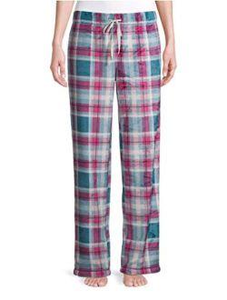 Pink Plaid Superminky Fleece Sleep Pajama Pants