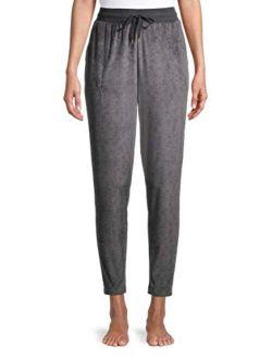 Greystone Velour Jogger Sleep Pants