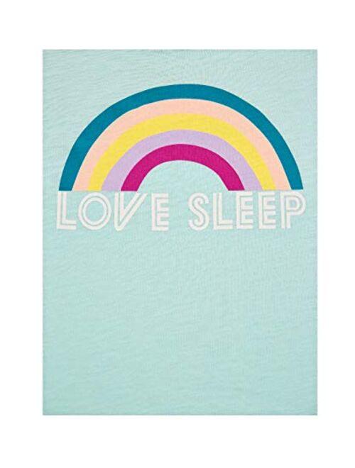 Secret Treasures Love Sleep Rainbow Aqua Cloud Knit Sleep Tank Top
