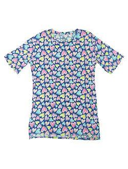 Hearts All Over Print Urban Revival Nightgown Long Sleepshirt