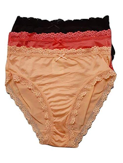 Secret Treasures Peach Combo 3 Pack Brief Panties