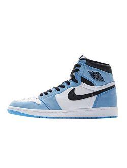 Jordan Mens Air 1 Retro High 555088 134 University Blue - Size