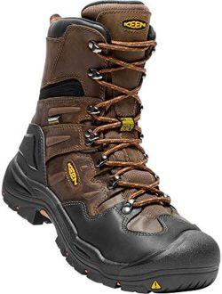 "Utility - Men's Coburg 8"" (steel Toe) Waterproof Work Boot"