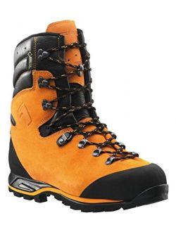 Haix Mens Protector Prime Work Boot, Orange,