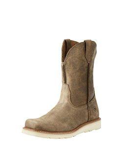 Men's Rambler Recon Square Toe Work Boot Western
