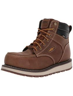 "Utility Men's Cincinnati 6"" Composite Toe Waterproof Wedge Work Shoe"