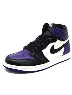 Men's Air Jordan 1 Retro High Og 'court Purple' 555088-501 (size: