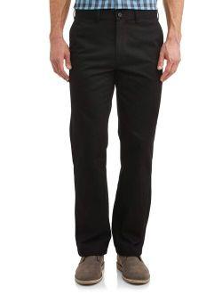 Big Men's Flat Front Wrinkle Resistant Pant