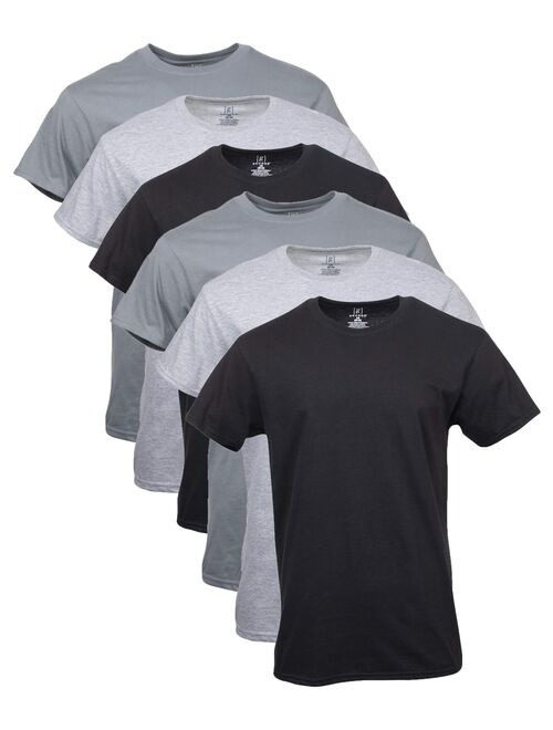 George Men's Assorted Crew T-Shirts, 6 Pack