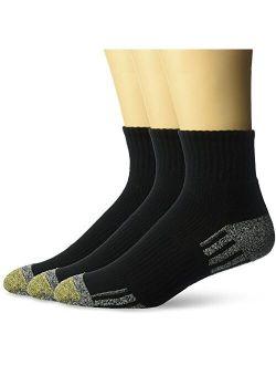 Men's Outlast Quarter Socks, 3 Pairs