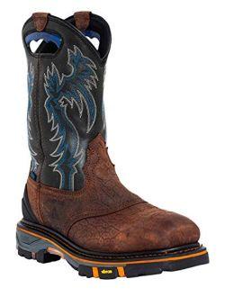 Cody James Men's Decimator Waterproof Western Work Boot Nano Composite Toe - Dbp-2