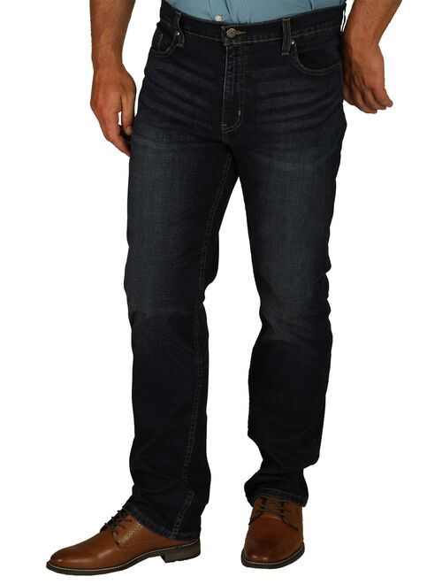George Men's Straight Fit Jean with Flex