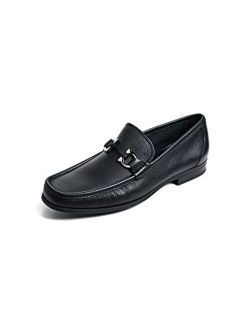 SALVATORE FERRAGAMO Men's Grandioso Bit Loafers, Black