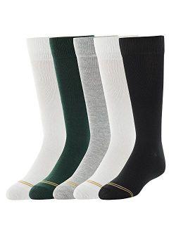 Girls Knee High Socks, 5 Pairs