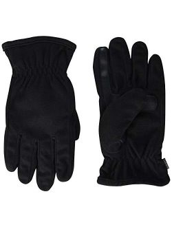 Men's Fleece Touchscreen Glove, Water-repellent With A Sherpa Soft Lining