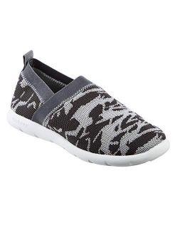 Zenz Women's Harmony Elastic Sport Knit Slipper, Slip-on Shoe