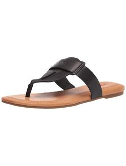Gaila Leather Thong Sandals