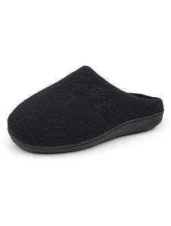 Unisex Memory Foam Slippers Slip On Indoor House Shoes Am1007