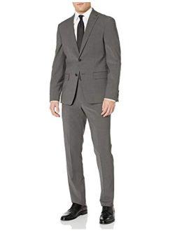 Men's Two Button Slim Fit Stretch Suit