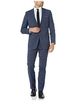 New York Men's Travel Ready Finished Bottom Suit