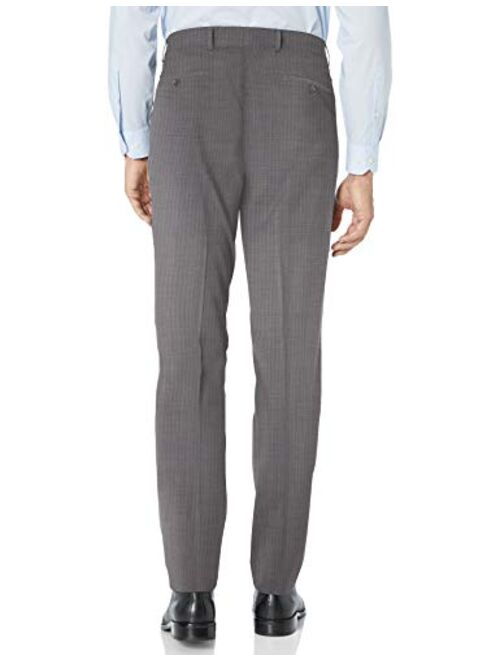 Kenneth Cole New York Men's Travel Ready Finished Bottom Suit
