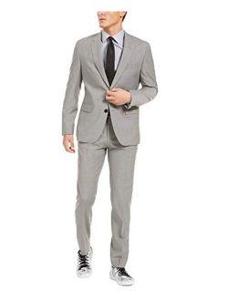 Hugo Boss Men's Modern Fit Suit 2 Piece Luxurious Business 100% Virgin Wool by Hugo