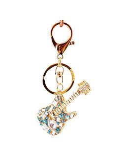 Women's Keyrings & Keychains Creative Diamond Inlaid Key Chain Bag Pendant Purse Bag Keys Charm Gift