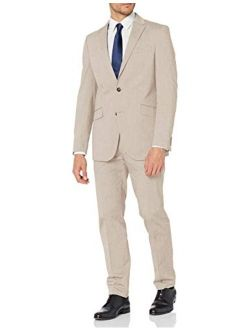 Unlisted Men's Stretch Chambray Suit