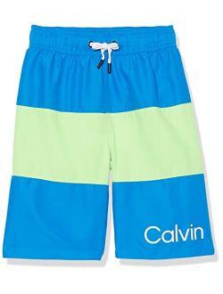 Boys' Swim Trunk With Upf 50+ Sun Protection