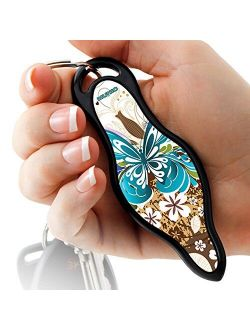 MUNIO Self Defense Kubaton Keychain with Ebook, 16 Designs, Legal in all States